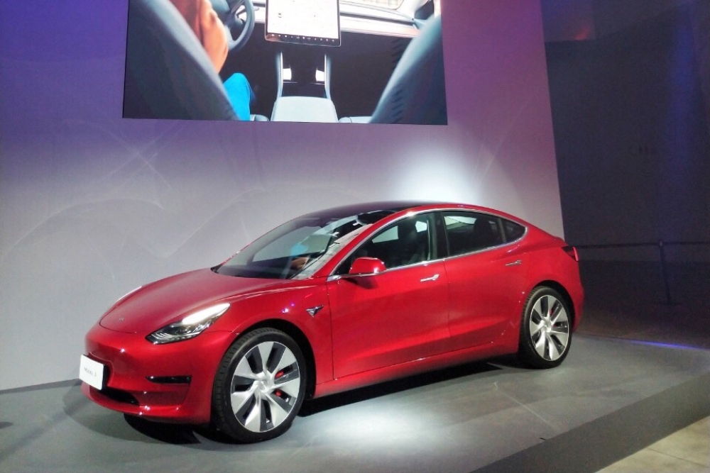 Tesla 台灣 Model 3 正式亮相_1