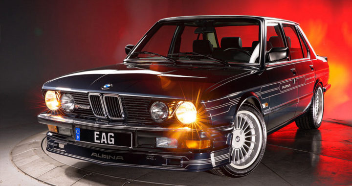 超級渦輪五號 BMW E28 Alpina B7 Turbo/3